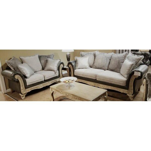 Oswego 2 Piece Living Room Set by Astoria Grand
