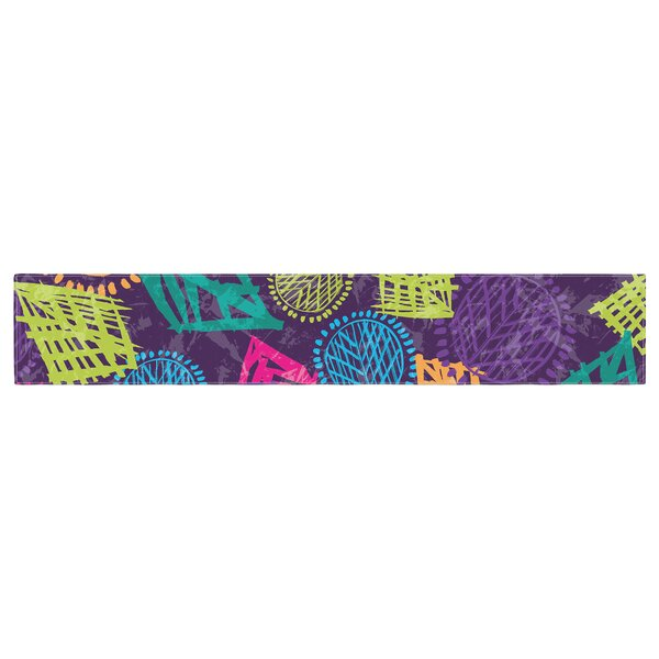 East Urban Home Emine Ortega African Beat Table Runner | Wayfair