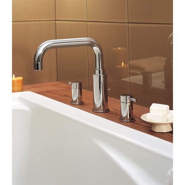 Serin Double Handle Deck Mounted Roman Tub Faucet Trim by American Standard American Standard