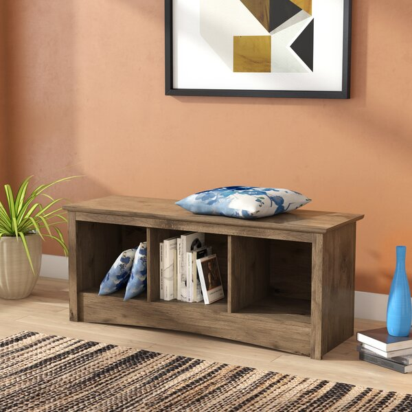 Penelope Wood Storage Bench by Latitude Run