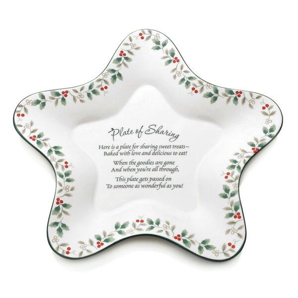 Winterberry Star Shaped Sharing Platter by Pfaltzgraff