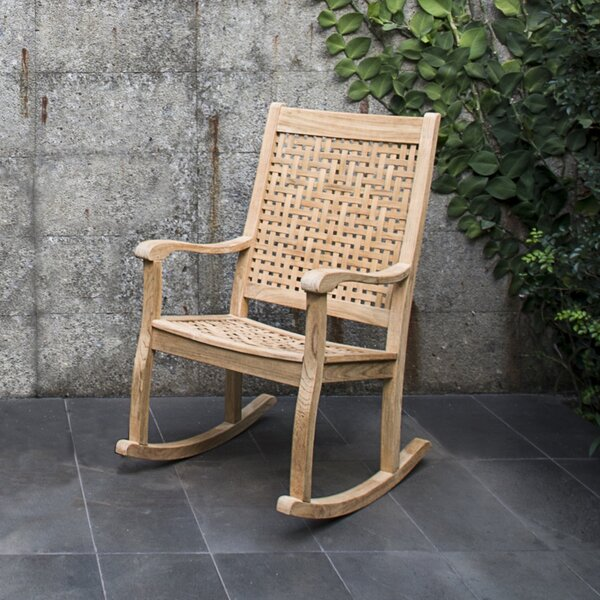 Catalunya Teak Rocking Chair by Cambridge Casual