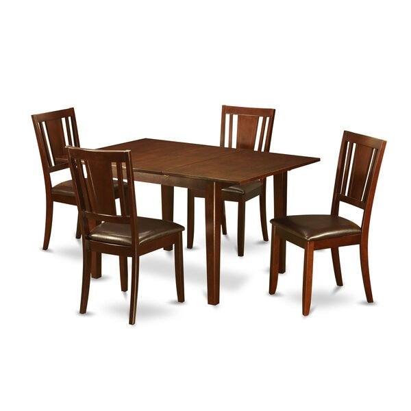 #1 Picasso 5 Piece Extendable Dining Set By Wooden Importers Comparison