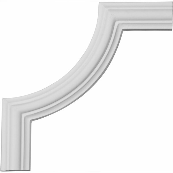 Bradford 5 7/8H x 5 7/8W Smooth Panel Moulding Corner by Ekena Millwork