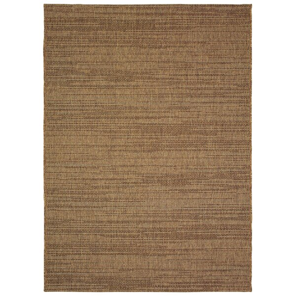 Stem-bridge Chestnut Brown Indoor/Outdoor Area Rug by Bay Isle Home