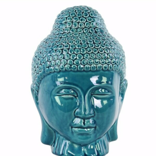 Greenford Buddha Head with Rounded Ushnisha by World Menagerie