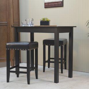 stafford 3 piece pub table set - 3 Piece Pub Table Set