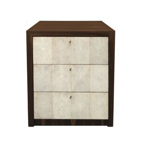 Shagreen Nightstand by Serge De Troyer Collection