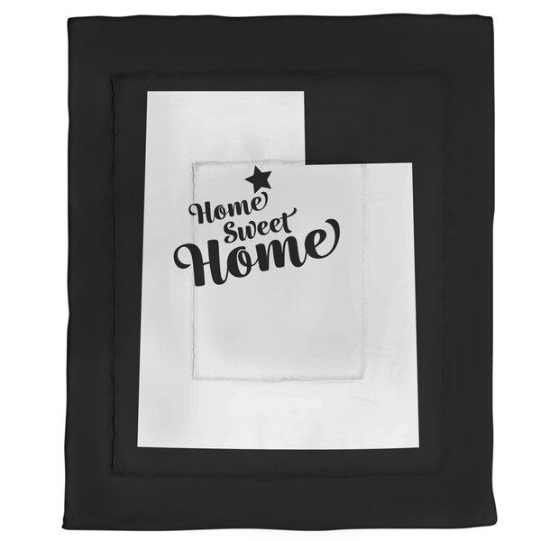 Salt Lake Home Sweet Single Reversible Comforter