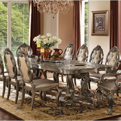 Roudebush 11 Piece Dining Set Astoria Grand