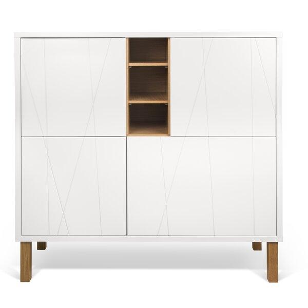 Crossen Cupboard 4 Door Accent Cabinet
