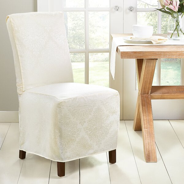 East Broadway Box Cushion Dining Chair Slipcover By House Of Hampton