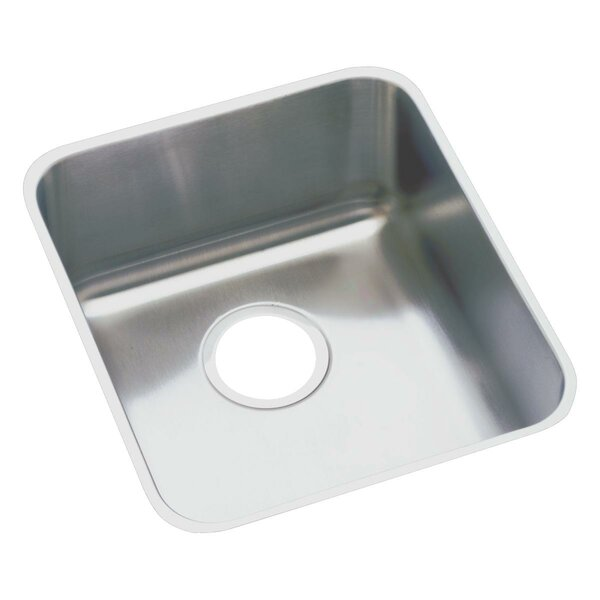 Lustertone 16 x 18.5  Undermount Kitchen Sink by Elkay