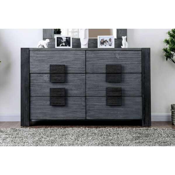 Beaupre 6 Drawer Double Dresser by Ivy Bronx