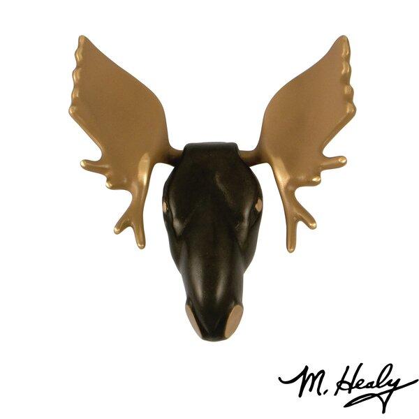 Moose Door Knocker by Michael Healy Designs
