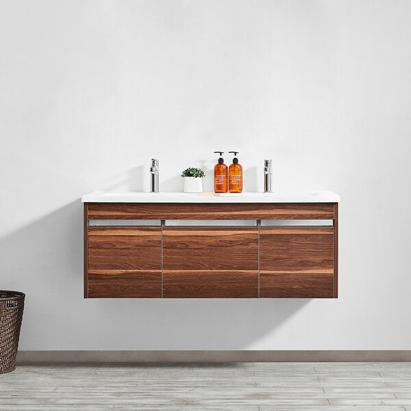 Adalynn 48 Double Bathroom Vanity by Wrought Studio