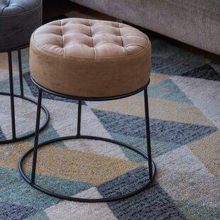 Awe Inspiring Steadham Stackable Footstool Tufted Ottoman Evergreenethics Interior Chair Design Evergreenethicsorg