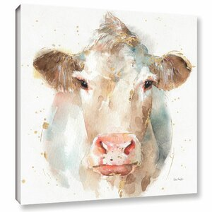 Farm Friends II Painting Print on Wrapped Canvas by Laurel Foundry Modern Farmhouse