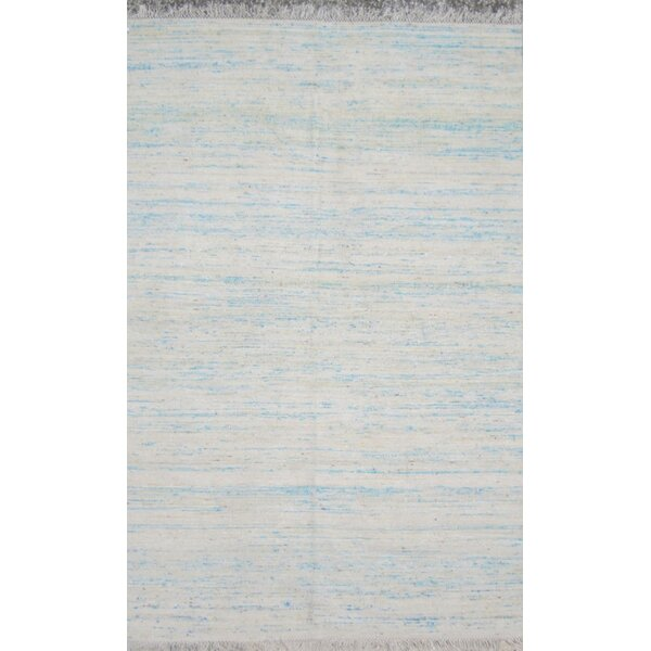 Duquette Bright Blue Area Rug by Ivy Bronx