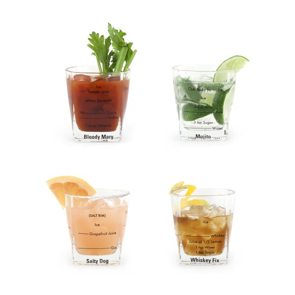 Albaugh 8 Oz. Barware (Set of 4) by Wrought Studio