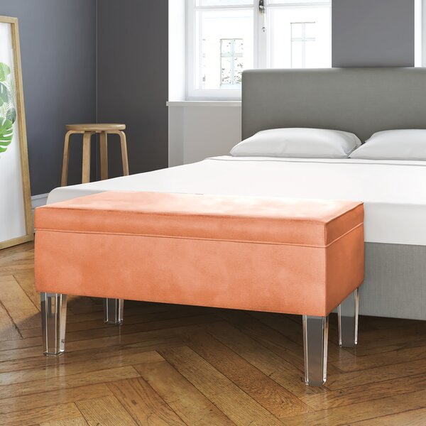 Sundquist Wood Storage Bench by House of Hampton