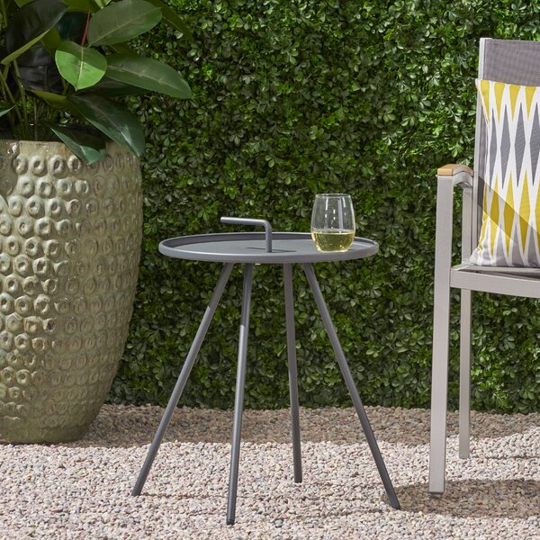 Rison Outdoor Side Table by Brayden Studio