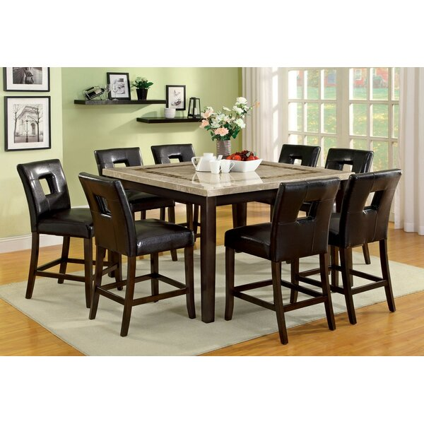 Bayaud Counter Height Dining Table by World Menagerie