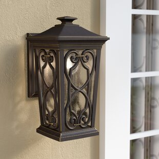 Shop For Alhambra 1-Light Outdoor Wall Lantern By Fleur De Lis Living