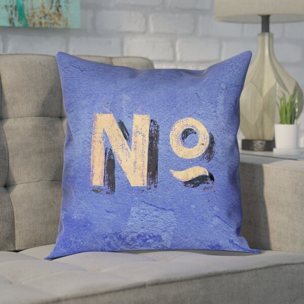 Enciso Graphic Wall Pillow Cover by Brayden Studio