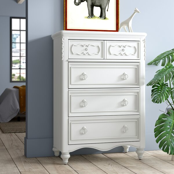 Cricklade 5 Drawer Chest By Viv + Rae by Viv + Rae Great Reviews