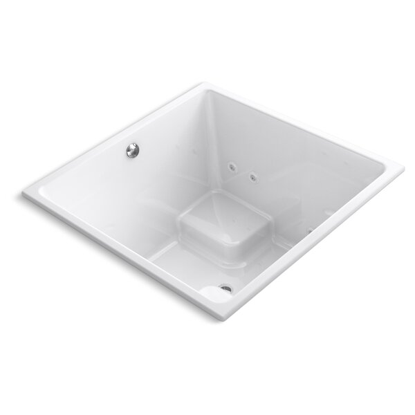 Underscore 48 x 48 Whirlpool Bathtub by Kohler