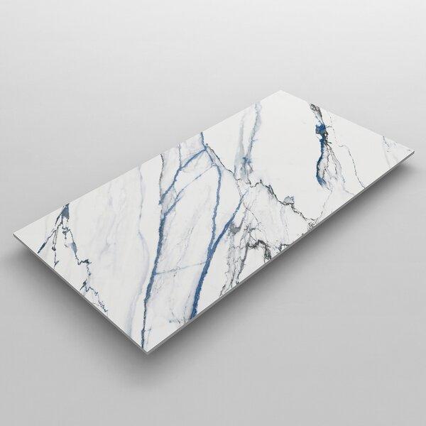 Calacatta 23.62 x 23.62 Natural Stone Tile