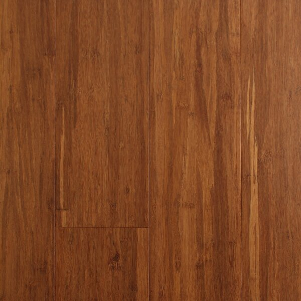 4-1/2 Solid Strandwoven Bamboo Flooring in Carbonized by Albero Valley