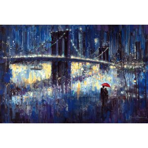 'Evening Romance' Painting Print on Canvas by East Urban Home