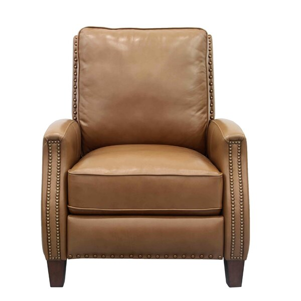 Bradly Leather Manual Recliner