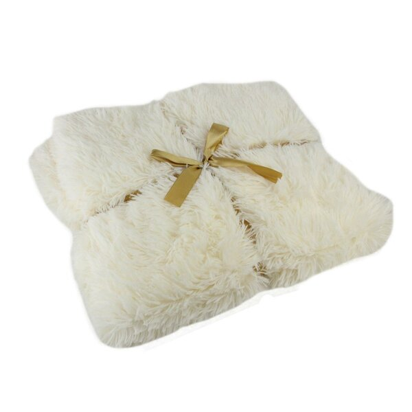 Hoyt Faux Fur Decorative Throw by House of Hampton