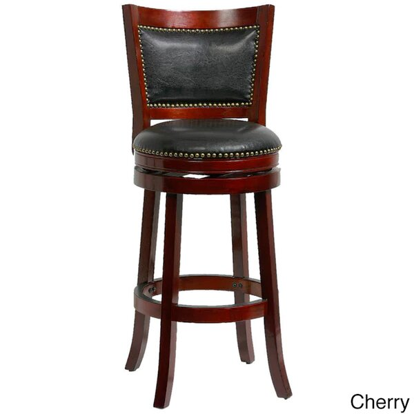 Magdaleno 44 Swivel Bar Stool by Winston Porter