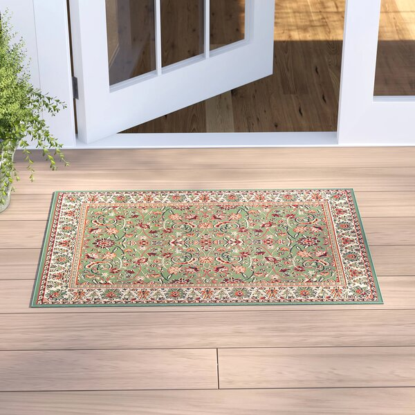 Alexandria Sage Green Indoor/Outdoor Area Rug by Sol 72 Outdoor