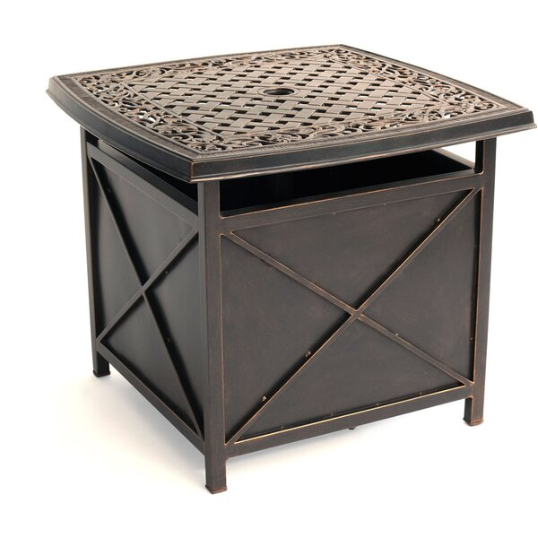 Lauritsen Side Table by Three Posts