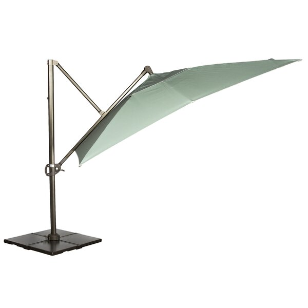 10' Square Cantilever Umbrella by Woodard Woodard