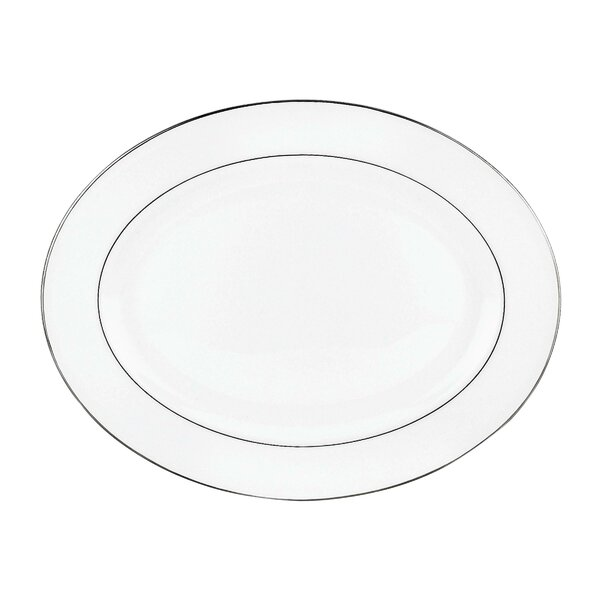 Continental Dining Platinum Bone China Platter by Lenox