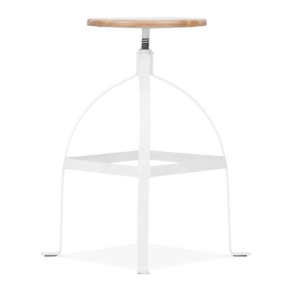 Adjustable Height Swivel Bar Stool by Design Lab MN