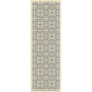 Budget Hotwells European Gray/White Indoor/Outdoor Area Rug By Charlton Home