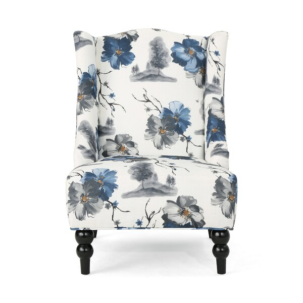 Caitlin Wingback Chair by Andover Mills