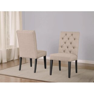 Fircrest Upholstered Dining Chair (Set of 2) by Greyleigh