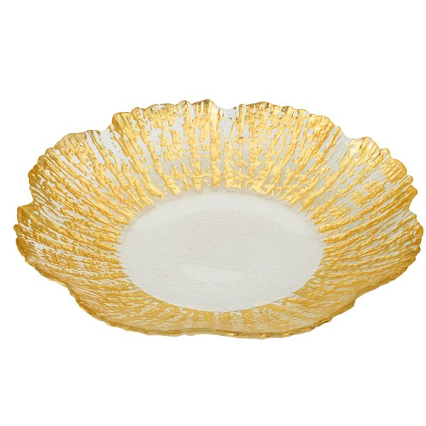 Trophy Scalloped Platter by Classic Touch