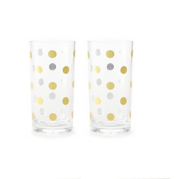 Raise a Glass 16 oz. Acrylic Highball Glass by kate spade new york