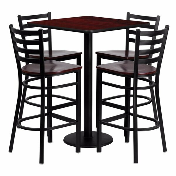Portia 5 Piece Pub Table Set by Red Barrel Studio