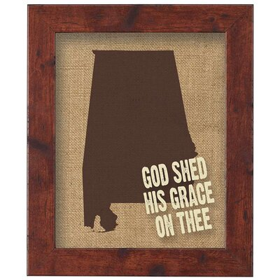 God Shed His Grace On Thee Framed Wall Art Dicksons Inc Shefinds