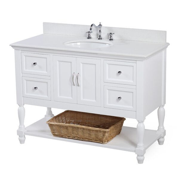 @ Beverly 48 Single Bathroom Vanity Set by Kitchen Bath Collection| #$0.00!
